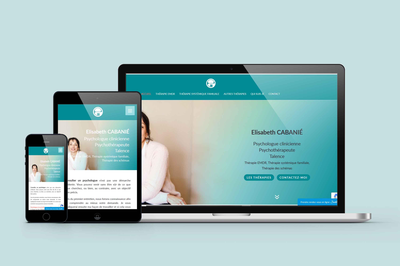 creation site psychotherapeute bordeaux